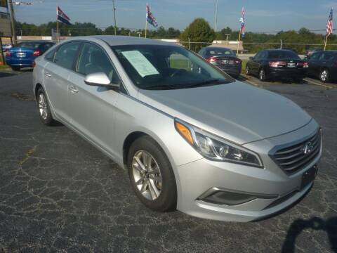 2016 Hyundai Sonata for sale at Roswell Auto Imports in Austell GA