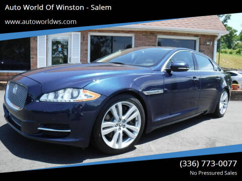 2013 Jaguar XJL for sale at Auto World Of Winston - Salem in Winston Salem NC