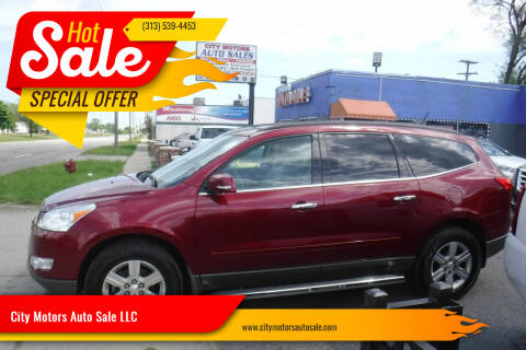 2010 Chevrolet Traverse for sale at City Motors Auto Sale LLC in Redford MI