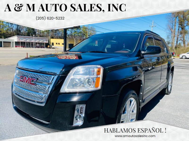 2012 GMC Terrain for sale at A & M Auto Sales, Inc in Alabaster AL