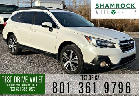2018 Subaru Outback for sale at Shamrock Group LLC #1 in Pleasant Grove UT