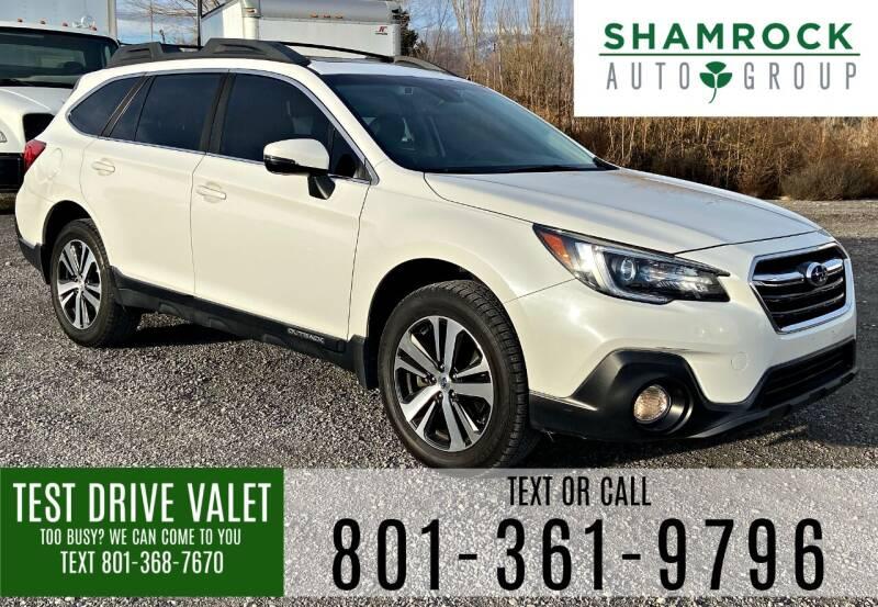 2018 Subaru Outback for sale at Shamrock Group LLC #1 in Pleasant Grove UT