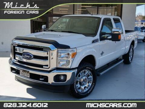2016 Ford F-250 Super Duty for sale at Mich's Foreign Cars in Hickory NC