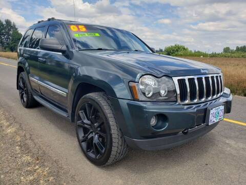 2005 Jeep Grand Cherokee for sale at Low Price Auto and Truck Sales, LLC in Brooks OR