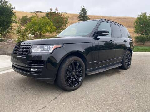 2015 Land Rover Range Rover for sale at CA Lease Returns in Livermore CA