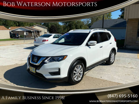 2017 Nissan Rogue for sale at Bob Waterson Motorsports in South Elgin IL