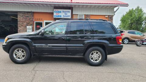 2000 Jeep Grand Cherokee for sale at Twin City Motors in Grand Forks ND
