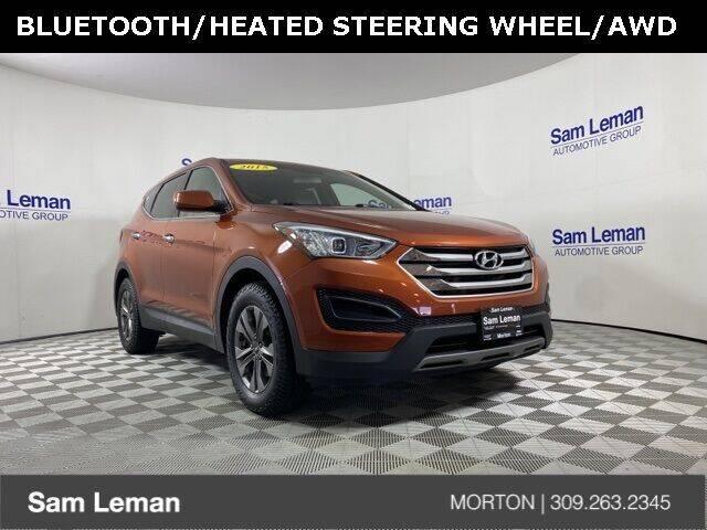 2015 Hyundai Santa Fe Sport for sale at Sam Leman CDJRF Morton in Morton IL