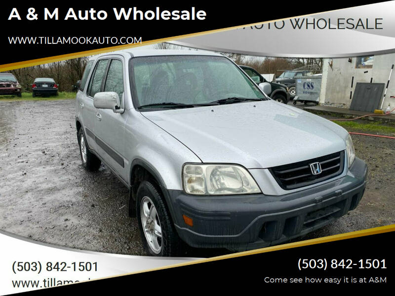 1998 Honda CR-V for sale at A & M Auto Wholesale in Tillamook OR