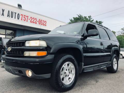 2004 Chevrolet Tahoe for sale at Trimax Auto Group in Norfolk VA