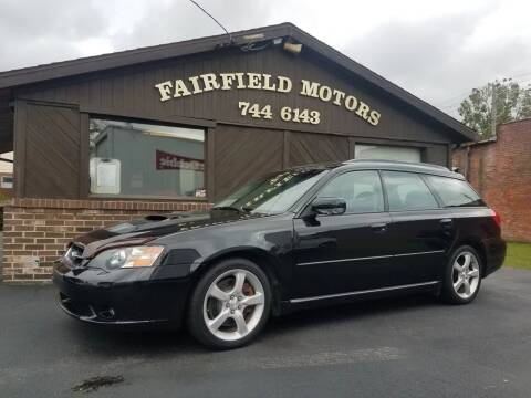 2005 Subaru Legacy for sale at Fairfield Motors in Fort Wayne IN
