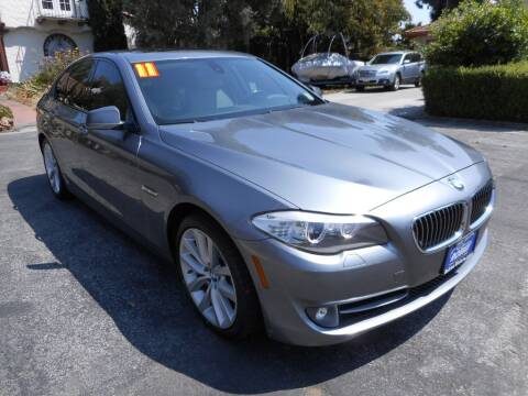 2011 BMW 5 Series for sale at ROBLES MOTORS in San Jose CA