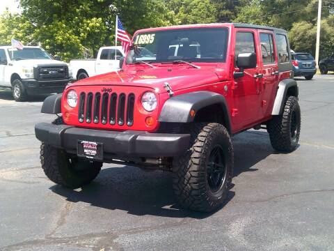 2007 Jeep Wrangler Unlimited for sale at Stoltz Motors in Troy OH
