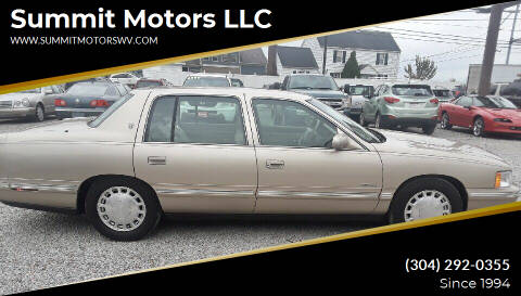 1998 Cadillac DeVille for sale at Summit Motors LLC in Morgantown WV