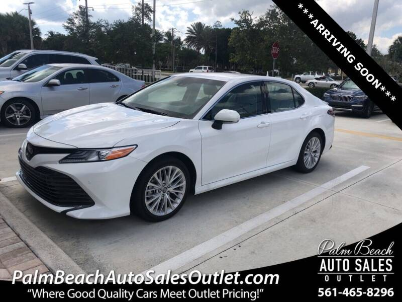 2018 Toyota Camry for sale in West Palm Beach, FL