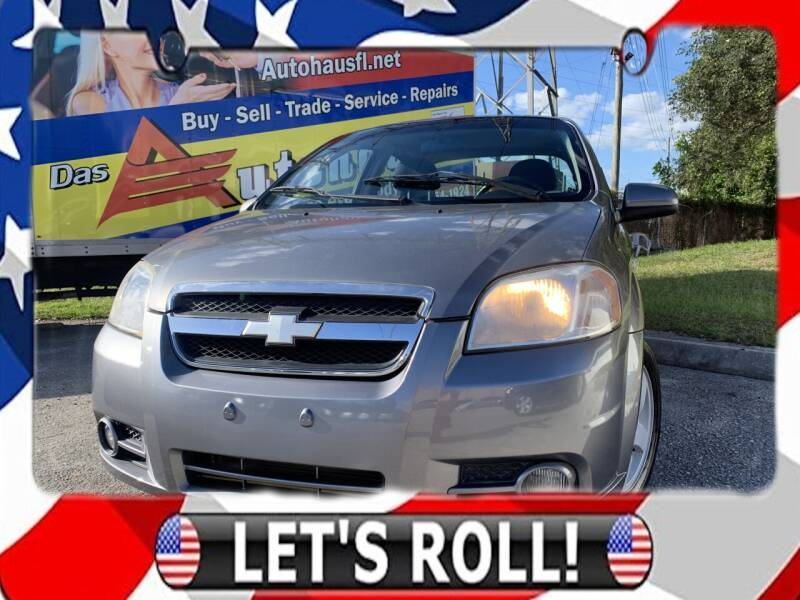 2007 Chevrolet Aveo for sale at Das Autohaus Quality Used Cars in Clearwater FL