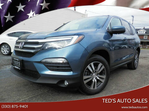2016 Honda Pilot for sale at Ted's Auto Sales in Louisville OH