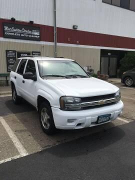 2007 Chevrolet TrailBlazer for sale at Specialty Auto Wholesalers Inc in Eden Prairie MN