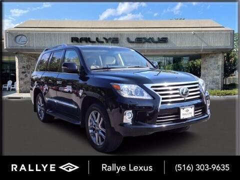 2015 Lexus LX 570 for sale at RALLYE LEXUS in Glen Cove NY