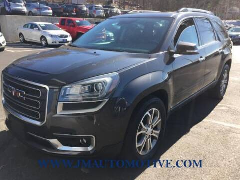 2016 GMC Acadia for sale at J & M Automotive in Naugatuck CT