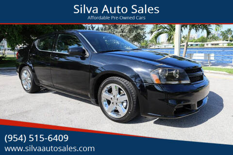 2013 Dodge Avenger for sale at Silva Auto Sales in Pompano Beach FL
