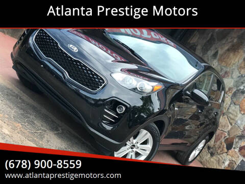 2017 Kia Sportage for sale at Atlanta Prestige Motors in Decatur GA