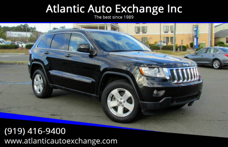 2012 Jeep Grand Cherokee for sale at Atlantic Auto Exchange Inc in Durham NC