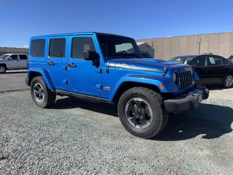 2014 Jeep Wrangler Unlimited for sale at Mikes Auto Inc in Grand Junction CO