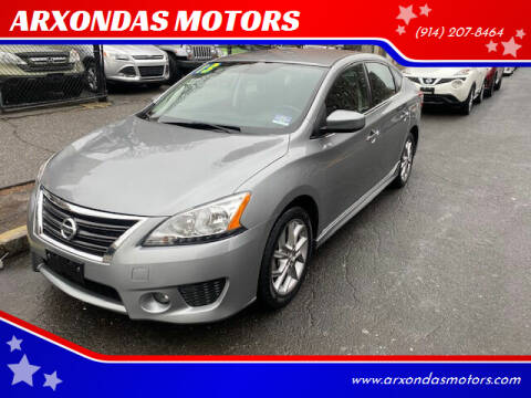 2013 Nissan Sentra for sale at ARXONDAS MOTORS in Yonkers NY