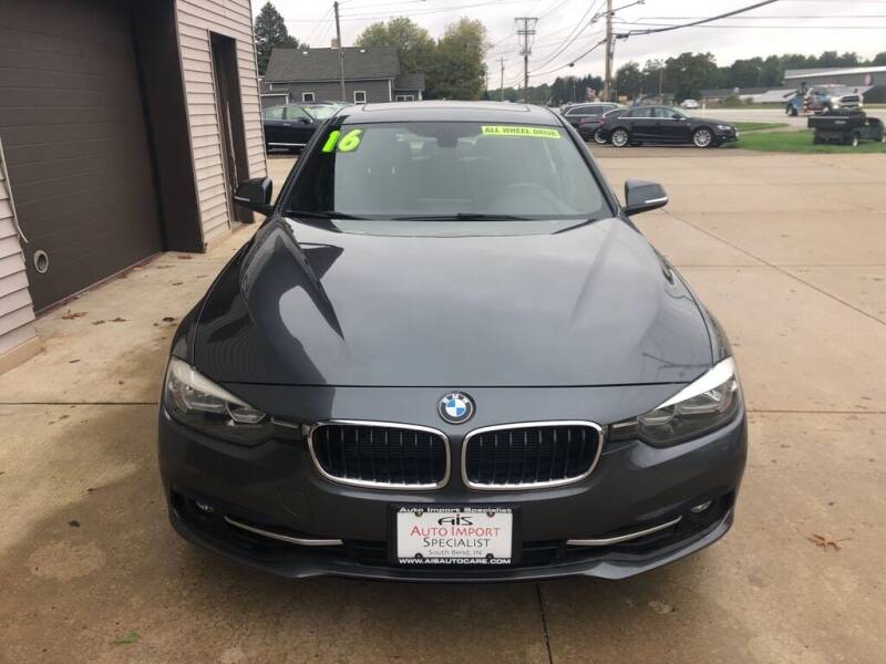 2016 BMW 3 Series for sale at Auto Import Specialist LLC in South Bend IN
