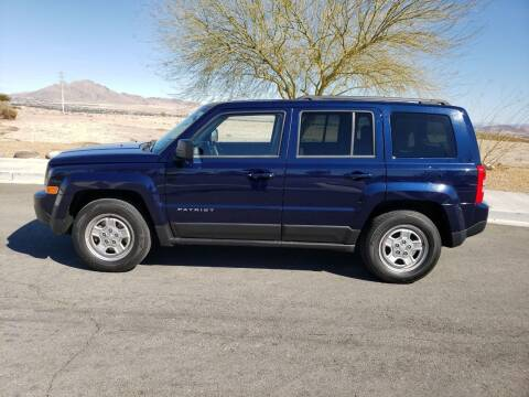2016 Jeep Patriot for sale at RAFIKI MOTORS in Henderson NV