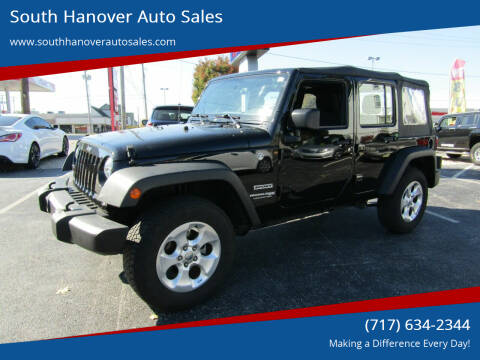 2018 Jeep Wrangler JK Unlimited for sale at South Hanover Auto Sales in Hanover PA