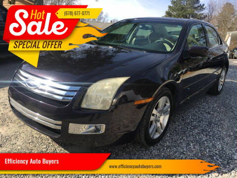 2007 Ford Fusion for sale at Efficiency Auto Buyers in Milton GA