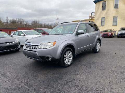 2011 Subaru Forester for sale at Sisson Pre-Owned in Uniontown PA