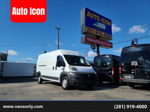 2017 RAM ProMaster Cargo for sale at Auto Icon in Houston TX