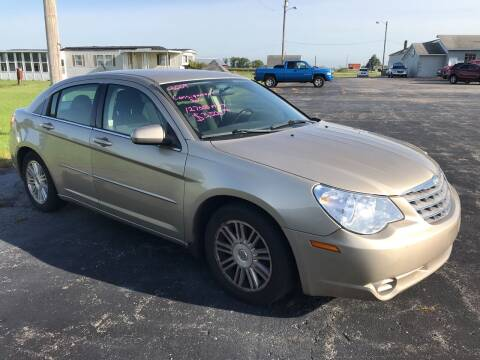 2009 Chrysler Sebring for sale at Huggins Auto Sales in Hartford City IN