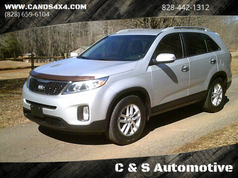 2014 Kia Sorento for sale at C & S Automotive in Nebo NC