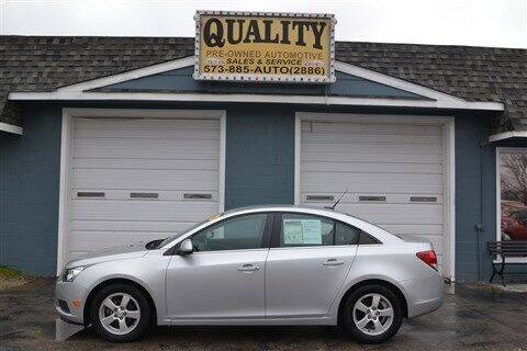 2014 Chevrolet Cruze for sale at Quality Pre-Owned Automotive in Cuba MO