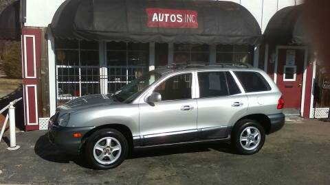 2004 Hyundai Santa Fe for sale at Autos Inc in Topeka KS