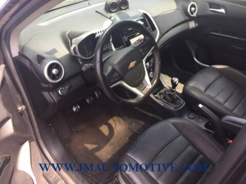 2015 Chevrolet Sonic for sale at J & M Automotive in Naugatuck CT