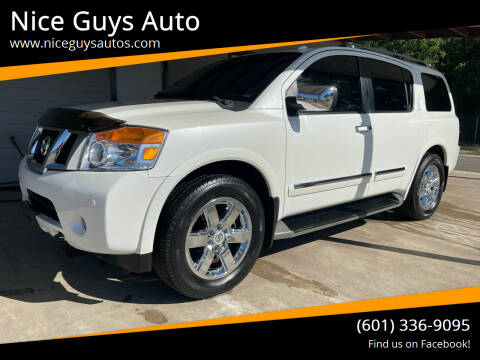 2014 Nissan Armada for sale at Nice Guys Auto in Hattiesburg MS