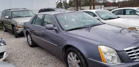 2007 Cadillac DTS for sale at JM Car Connection in Wendell NC