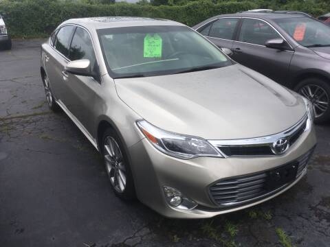 2015 Toyota Avalon for sale at MELILLO MOTORS INC in North Haven CT
