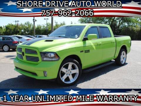 2017 RAM Ram Pickup 1500 for sale at Shore Drive Auto World in Virginia Beach VA