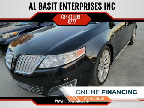 2010 Lincoln MKS for sale at AL BASIT ENTERPRISES INC in Riverside CA