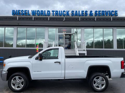 2017 GMC Sierra 3500HD CC for sale at Diesel World Truck Sales in Plaistow NH