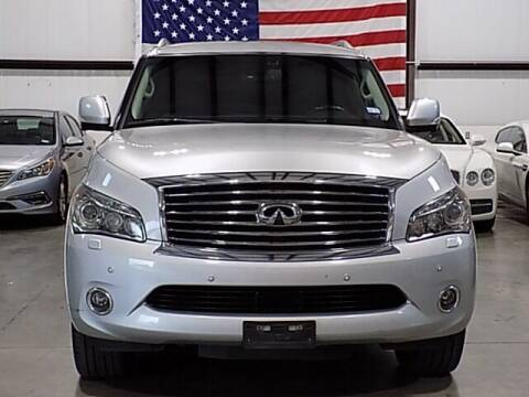 2013 Infiniti QX56 for sale at Texas Motor Sport in Houston TX