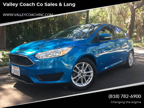 2016 Ford Focus for sale at Valley Coach Co Sales & Lsng in Van Nuys CA