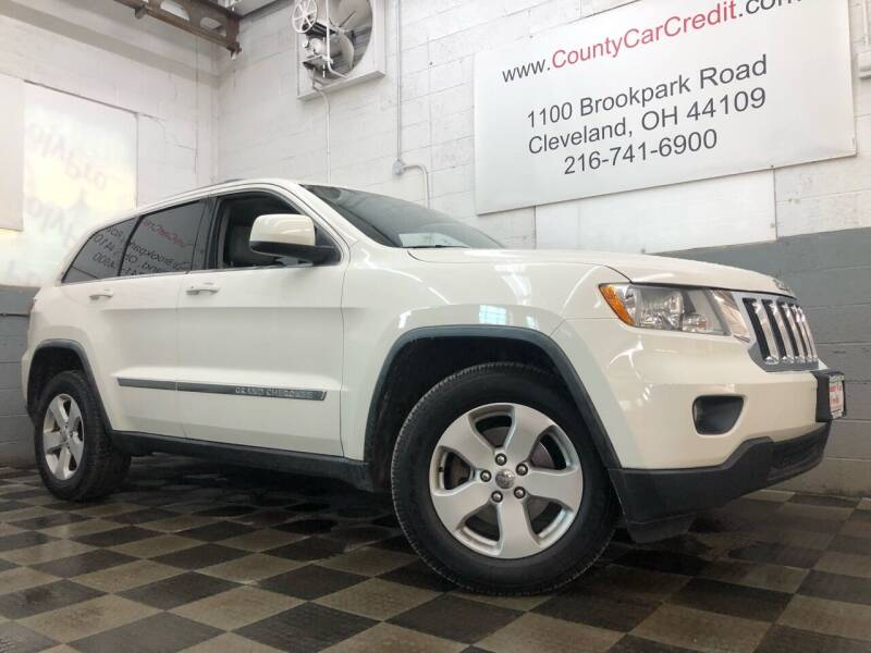 2012 Jeep Grand Cherokee for sale at County Car Credit in Cleveland OH
