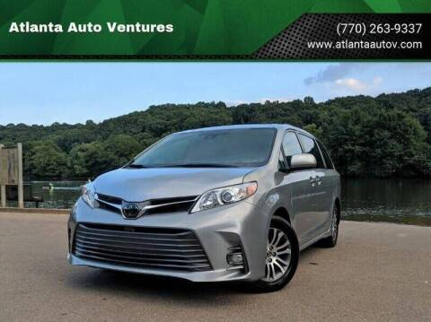 2019 Toyota Sienna for sale at Atlanta Auto Ventures in Roswell GA